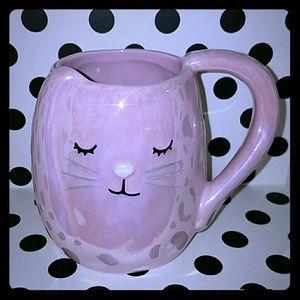 Fun bunny rabbit figural mug